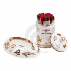 HABANOS-PACIFIC CIGAR 20TH ANNIVERSARY JAR & ASHTRAY-2323